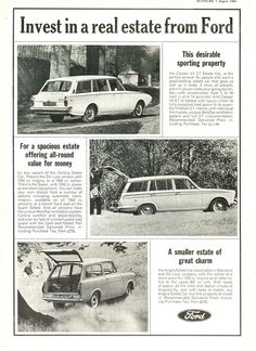 Ford Anglia Estate Advert