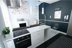 Znalezione obrazy dla zapytania małe mieszkanie