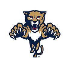 Florida Panthers Alternate Logo on Chris Creamer's Sports Logos Page - SportsLogos. A virtual museum of sports logos, uniforms and historical items. Hockey Logos, Nhl Logos, Soccer Logo, Sports Team Logos, Pet Logo, Logo Esport, Panthers Team, Florida Panthers, Pantera Logo