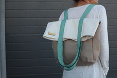 Leather School Bag, Travel Handbags, Bowling Bags, Cute Backpacks, Day Bag, Canvas Backpack, Medium Bags, Handmade Bags, Etsy Shop
