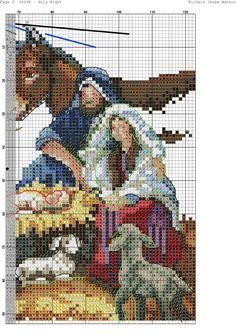 Cross Stitch Angels, Cross Stitch Charts, Cross Stitch Designs, Cross Stitch Christmas Stockings, Christmas Cross, Religious Cross Stitch Patterns, Religious Art, Cross Stitching, Pixel Art
