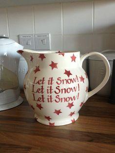 Emma Bridgewater Christmas Red Star 6 Pint Jug Personalised