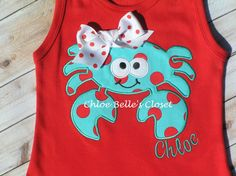Silly Crab Dress by juliesonny on Etsy, $36.00