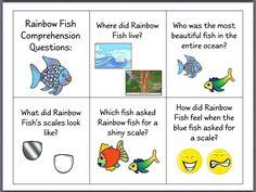 Rainbow Fish Preschool Worksheets rainbow fish rhymes and songs ...