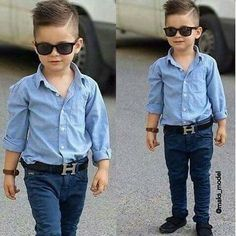 Modern fade for little boys / kids hair cut