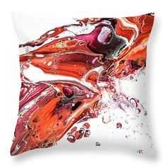 Abstract Fragment Throw Pillow for Sale by Jenny Rainbow Pillow Sale, Poplin Fabric, Fine Art Photography, Home Art, Rainbow, Cleaning, Throw Pillows, Zipper, Abstract
