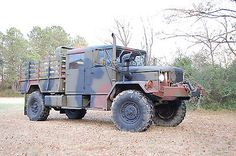 1972 AM General M35A2 CREW CAB 2.5 Ton Deuce and a Half Military Zombie Truck in eBay Motors, Other Vehicles & Trailers, Military Vehicles | eBay
