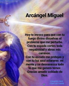 Catholic Prayer For Healing, Catholic Prayers In Spanish, Spiritual Prayers, God Prayer, Prayer Quotes, Daily Prayer, Nighttime Prayer, Archangel Prayers, Love