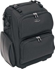 Saddlemen SDP2600 Motorcycle Roller Sissy Bar Bag 3515-0079, Black