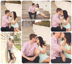 Jessica & Andy's Urban Engagements || Milwaukee Wi Engagement Photography - Faith Photography