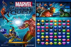 D3 has unveiled its video game line-up for New York Comic Con, including Marvel Puzzle Quest: Dark Reign.