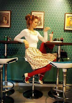 Get this look: http://lb.nu/look/8774531  More looks by Petra Butkova: http://lb.nu/petrabutkova  Items in this look:  Ihlow Upcycled Tee Shirt, Ihlow Handmade Flower Skirt, Ihlow Handmade Sweater   #retro #romantic #vintage #skirt #teeshirt #sweater #sweet #flowers #handmade
