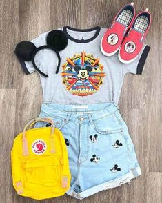 Cute Disney Outfits, Disney World Outfits, Disney Themed Outfits, Disneyland Outfits, Cute Outfits, Disney Clothes, Disneyland Trip, Emo Outfits, Teen Fashion Outfits