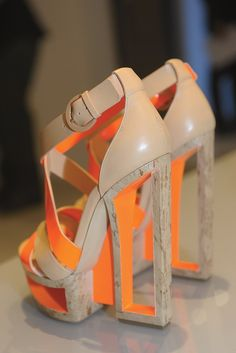 casadei cutout block wedges. i wish i got a pair of these :( #shoeporn