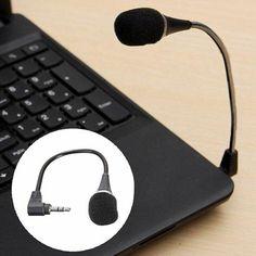 #BangGood - #Eachine1 Mini 3.5mm Flexible Microphone For PC Laptop Skype MSN SKYPE Chat Online - AdoreWe.com