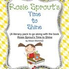 Reading, plants - (Goes with book Rosie Sprout's Time to Shine) Our students come to school with many different personalities. Teaching them social skills is very important to help them get along and to have a p...