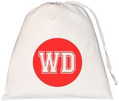 Netball Wing Defence Large Drawstring Bag
