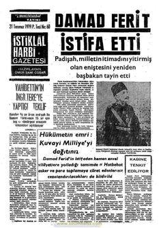 istiklal harbi gazetesi 21 temmuz 1919