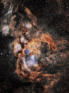 NGC 6357, the War and Peace Nebula
