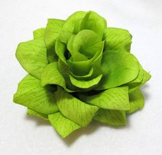 HairFlowers.net - Large Bright Lime Green Rose Flower Hair Clip, $6.99 (http://www.hairflowers.net/hair-flowers/large-bright-lime-green-rose-flower-hair-clip.html)