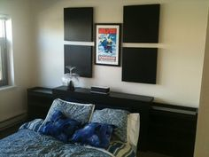 IKEA Hackers: Malm Headboard Hack with Recessed Ridge for Hiding Cords and Back Lighting