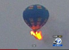 At least two people are dead after a hot-air balloon hit a power line and burst into flames at the Mid-Atlantic Balloon Festival Friday evening in Doswell, Virginia. Horrified onlookers stood watching helplessly as the balloon came down in flames.