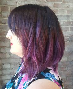 Purple ombré!! #ombre #ombrehair #purplehair #purple #purplehairdontcare…