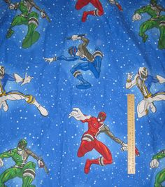 Vintage Pair Curtains Power Rangers 72 Long By LuckyCarolDesigns 2500 Awesome Bedrooms