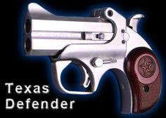 The trigger guard aids in the controlTexas Defender of the pistol when shooting the larger calibers.
