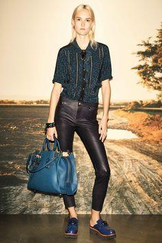 Coach 1941 Pre-Fall 2016 Fashion Show -- the bag...look at the bag
