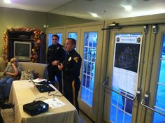 Lt. Ritter and Capt. Miller presented the seminar.