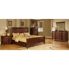 he Hawthorne 5pc bedroom set with underbed storage will bring traditional elegance. $2,759.99