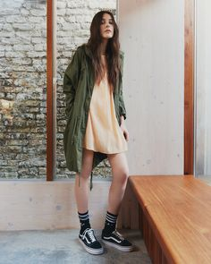 BDG Oversized Washed Parka