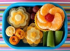 Healthy Fruits and Veggies Lunch Box