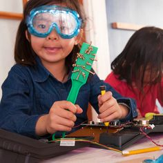 Take apart old and unusable electronics and use the pieces to make an original creation, from the inside out. Discovery Museum, Take Apart, Catapult, Inside Out, Activities For Kids, Creativity, Pretend Play, Social Skills, Key