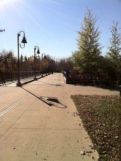 Around Calgary, pathway and parks