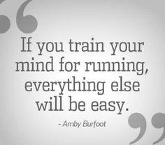 Marathon 2017. Gettin' my mind ready. Here we go!