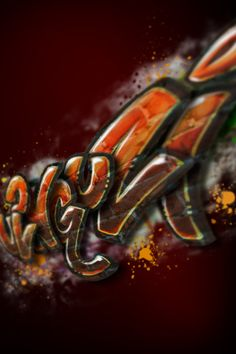Ulanguzi Brand Graphic - Graffiti
