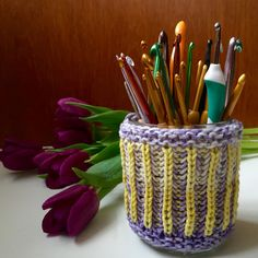 Crafts from the Cwtch: Brioche Knitting Part 3: Two-colour Brioche (in-th...