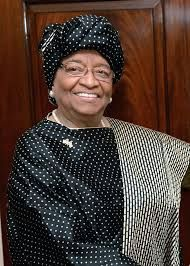 Ellen Johnson-Sirleaf Fue elegida presidenta en las elecciones presidenciales del año 2005. Tomó posesión de su cargo el 16 de enero del 2006, siendo la primera mujer presidente electa en África. El viernes 7 de octubre de 2011 recibió el Premio Nobel de la Paz, compartido con su compatriota Leymah Gbowee y con la yemení Tawakel Karman.