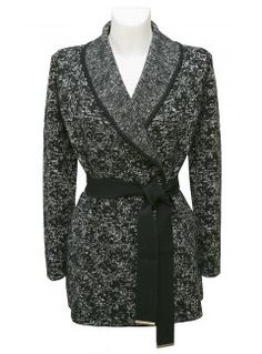 paule-ka-grey-black-tweed-cardigan-WHITESBOUTIQUE.COM