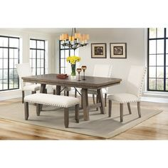 Found it at Wayfair - Dearing 6 Piece Dining Set