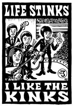 The Kinks band, Life Stinks,