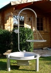 Edelstahl-Schwenkgrill 0700 VAXRL-0060 ERX Outdoor Structures, Restaurant, Interior, Diner Restaurant, Restaurants, Dining