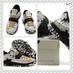 meet a4b3e 9aaa2 negozi di scarpe KDVII-013 Nike KD VII Bianco Nero Uomo
