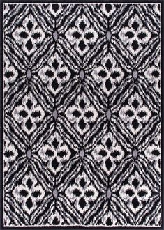 Nourison Atash Black Area Rug