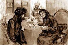 Cartomancy - Ivan Vladimirov, 1928 @@@@.......http://www.pinterest.com/lois801/art-i-love-5/