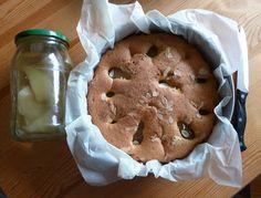 smaki życia Ewy: Ciasto z gruszkami