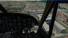 Bell UH-1D Cockpit