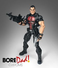- custom action figure - marvel legends